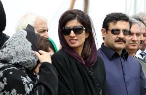 Former foreign minister Hina Rabbani Khar.