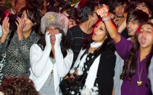 The audience at a rap concert in Islamabad.